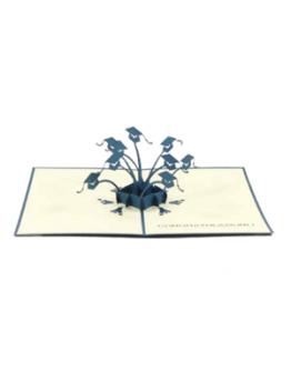 greeting card graduation origami