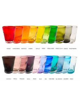 Glass tumbler solid