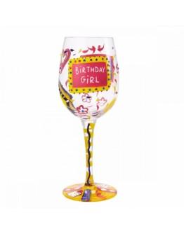 Lolita Wine Glass Bitrthday Girl