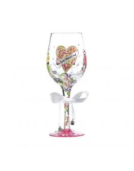 Lolita Wine Glass Just Married