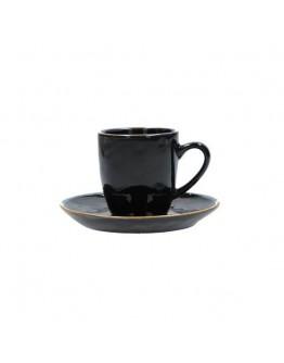 Porcellana Bianca COFFEE CUP tortora 6pz