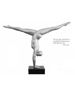 gymnast sculpture