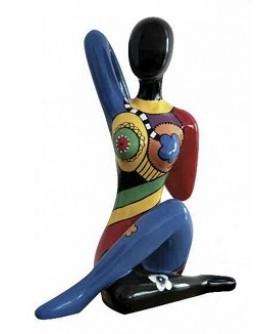 sculpture dancing woman